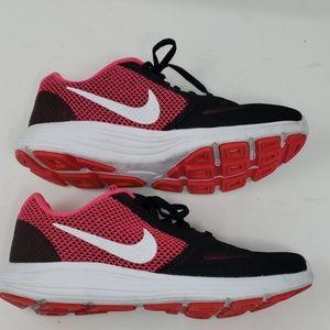 Nike Revolution 3 Running ShoesBlack & Pink Sz 8